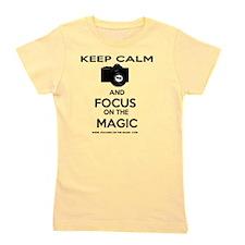 Focused on the Magic Girl's Tee