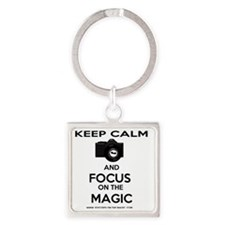 Focused on the Magic Square Keychain