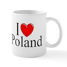 """""""I Love Poland"""" Mug"""