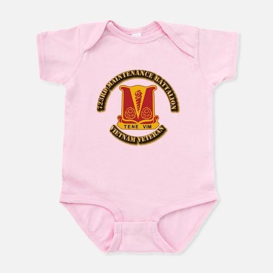 Army - 723rd Maintenance Battalion Infant Bodysuit