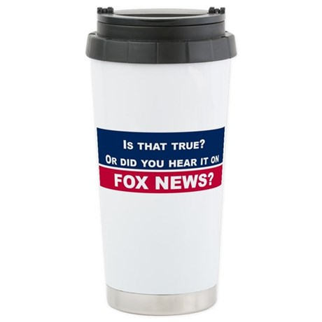 Fox News Travel Mug