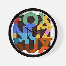 Fox_Nuz_Sux_3 Wall Clock