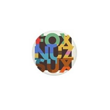 Fox_Nuz_Sux_3 Mini Button