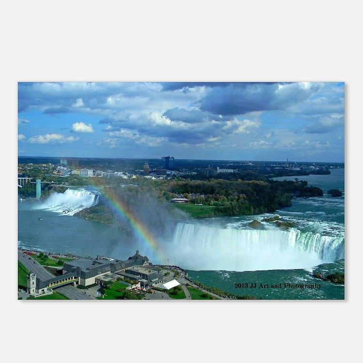 Niagara Falls Rainbow Postcards (Package Of 8)