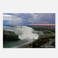 Bridal Falls Sunset Postcards (Package Of 8)