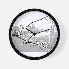 GBF Redbud Wall Clock