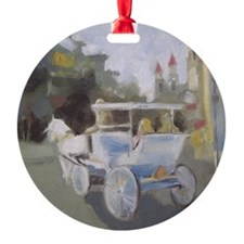 Carriage Ride Sightseeing Ornament