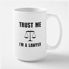 Trust Me Lawyer Mugs