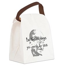 be change 1 tee Canvas Lunch Bag