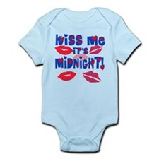 Kiss Me It's Midnight! Infant Bodysuit