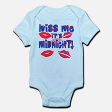 Kiss Me It's Midnight! Infant Bodysuit