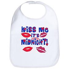 Kiss Me It's Midnight! Bib