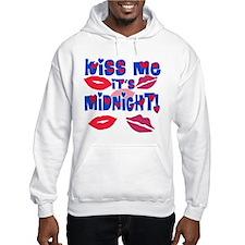 Kiss Me It's Midnight! Hoodie