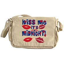 Kiss Me It's Midnight! Messenger Bag