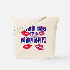 Kiss Me It's Midnight! Tote Bag