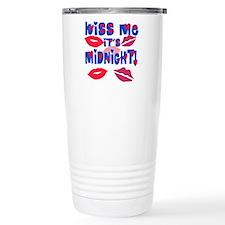 Kiss Me It's Midnight! Travel Mug
