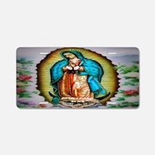 Our Lady of Guadalupe Aluminum License Plate