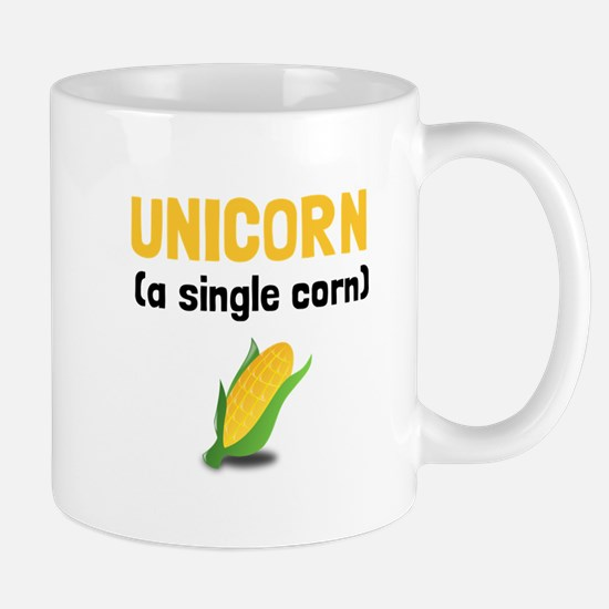 Unicorn Single Corn Mugs