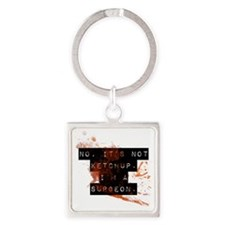 surgeon Square Keychain