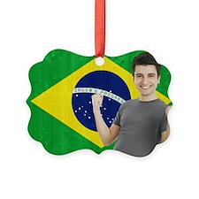 Brazilian Sports Fan Ornament