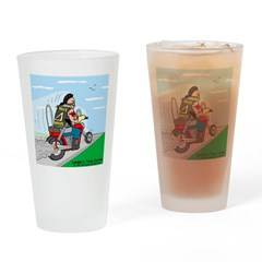 Hells Angles Drinking Glass