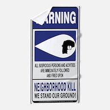 Neighborhood Kill Beach Towel