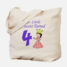 Little Princess Is 4 Tote Bag