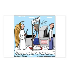 Heavenly Security Postcards (Package of 8)