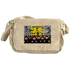 Hair Club Graduation Messenger Bag