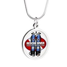 Resuce Diver (Scuba Tanks) Necklaces
