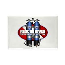 Resuce Diver (Scuba Tanks) Magnets