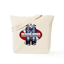 Resuce Diver (Scuba Tanks) Tote Bag