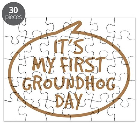 Babys First Groundhog Day Puzzle