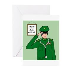 General Medicine Greeting Cards (Pk of 20)