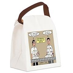 Geek Wear Canvas Lunch Bag