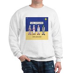Wise Men and Frankenstein Sweatshirt