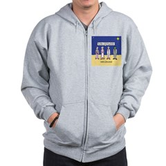 Wise Men and Frankenstein Zip Hoodie