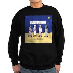 Wise Men and Frankenstein Sweatshirt (dark)