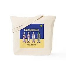 Wise Men and Frankenstein Tote Bag