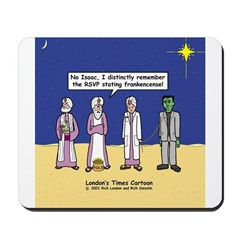 Wise Men and Frankenstein Mousepad