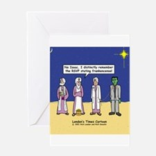 Wise Men and Frankenstein Greeting Card