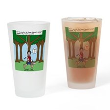 Isaac Newtons Brother Fig Drinking Glass