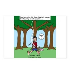 Isaac Newtons Brother Fig Postcards (Package of 8)