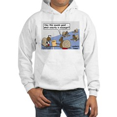 Snail Orders Escargot Hoodie