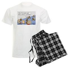 Snail Orders Escargot Men's Light Pajamas