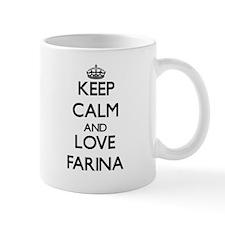 Keep calm and love Farina Mugs