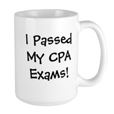 Passed CPA Exams Success Celebration Mugs