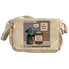 Dentist Marketing Scheme Messenger Bag