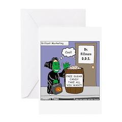 Dentist Marketing Scheme Greeting Card
