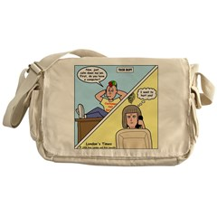 Customer No Service Messenger Bag